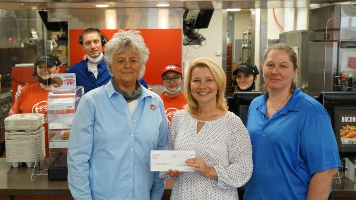 Wendys Donates to Great Expectations at Southwest