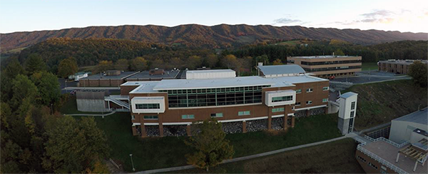 SWCC Campus Aerial View - NO LIMITS! (image taken by drone, Joe & Rayn Magee.)