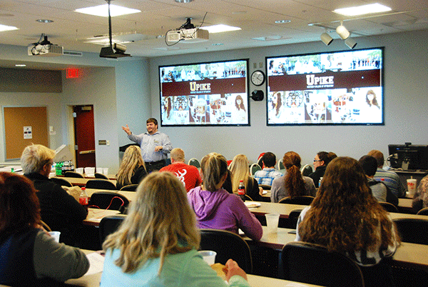 Casey Price shares information on the new Articulation Agreement between the University of Pikeville Kentucky College Of Optometry and Southwest Virginia Community College students.
