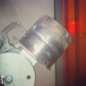 SMAW 6G pipe stick welding test