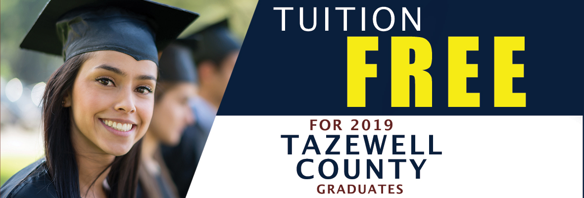 tazewell county connect free tuition